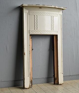 イギリス アンティーク ファイヤープレイス 暖炉 ディスプレイ 8174