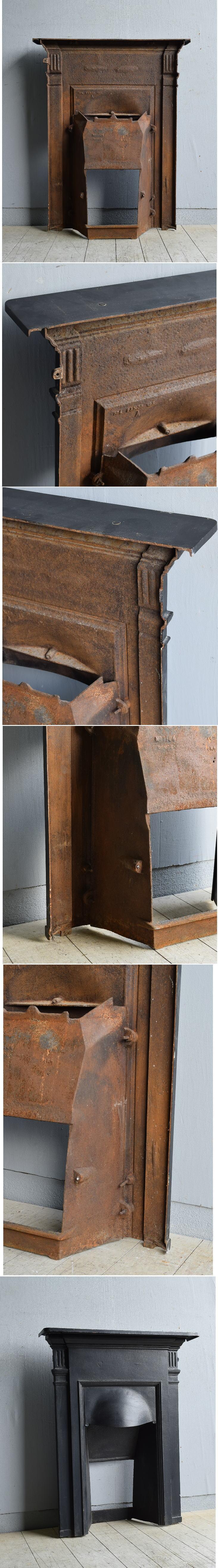 イギリス アンティーク ファイヤープレイス 暖炉 ディスプレイ 8175