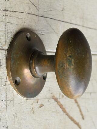 イギリス アンティーク 真鍮 ドアノブ 建具金物 握り玉 8203