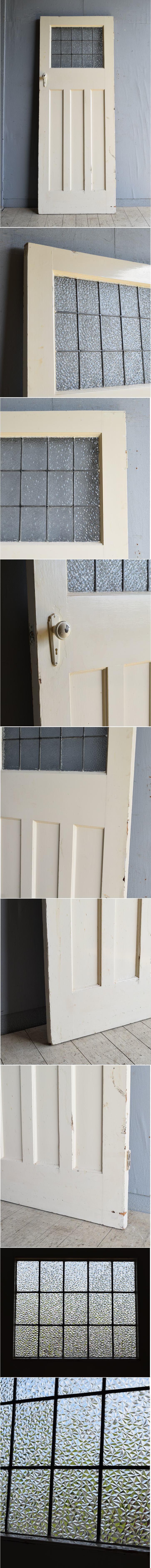 イギリス アンティーク ドア 扉 建具 8226