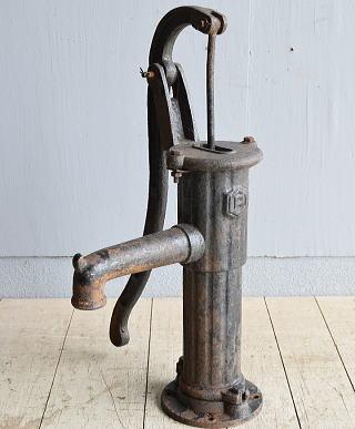 イギリス アンティーク ウォーターポンプ 井戸 ガーデニング 8246