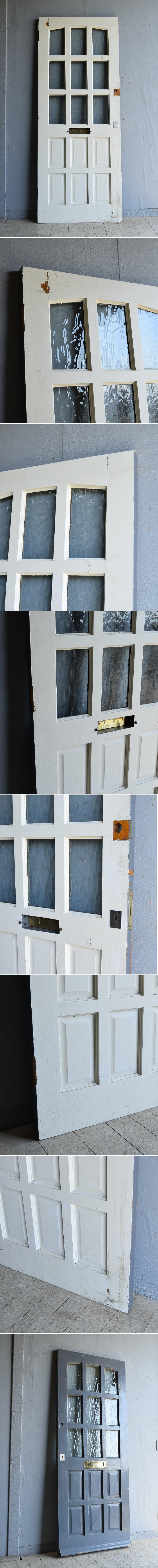 イギリス アンティーク ドア 扉 建具 8256