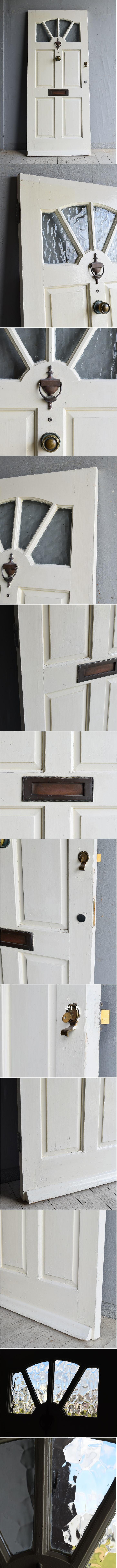 イギリス アンティーク ドア 扉 建具 8349