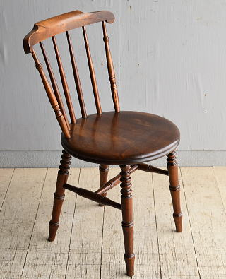 イギリス アンティーク家具 キッチンチェア アイベックスチェア 椅子 8368