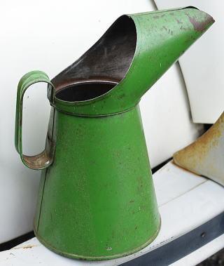 イギリス アンティーク オイル缶 大 8428