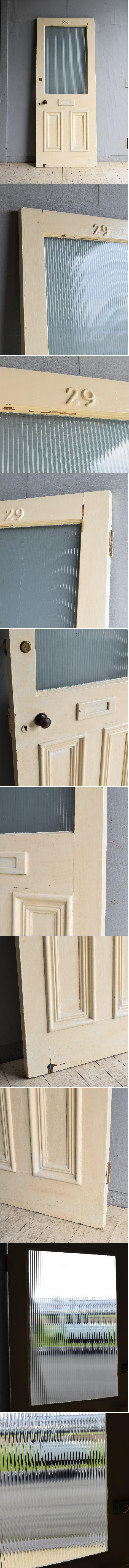 イギリス アンティーク ドア 扉 建具 8441