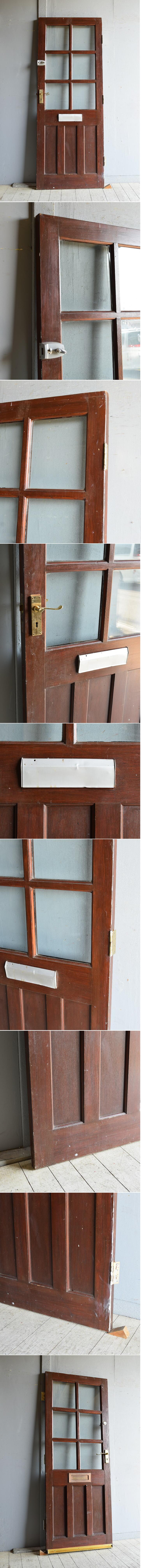 イギリス アンティーク ドア 扉 建具 8442