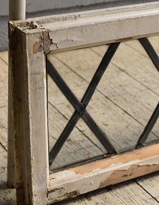 イギリス アンティーク 窓 無色透明 8520