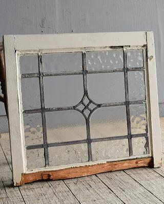 イギリス アンティーク 窓 無色透明 8525