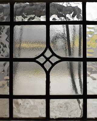 イギリス アンティーク 窓 無色透明 8530