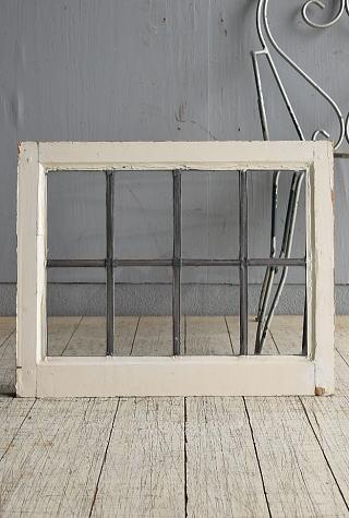 イギリス アンティーク 窓 無色透明 8531