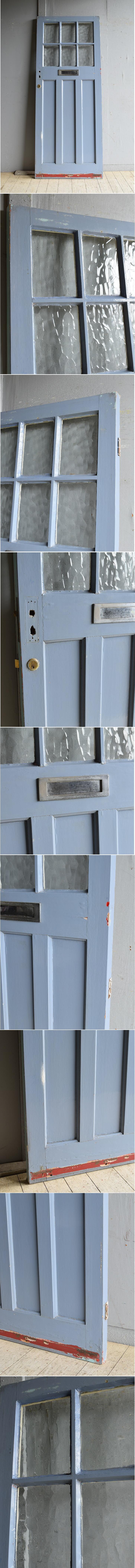 イギリス アンティーク ドア 扉 建具 8534
