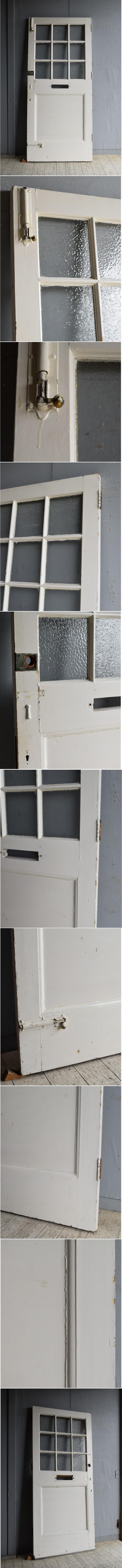 イギリス アンティーク ドア 扉 建具 8569