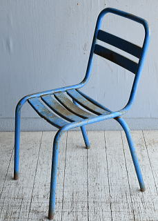 フレンチ アンティーク スタッキング ガーデンチェア 椅子 8589
