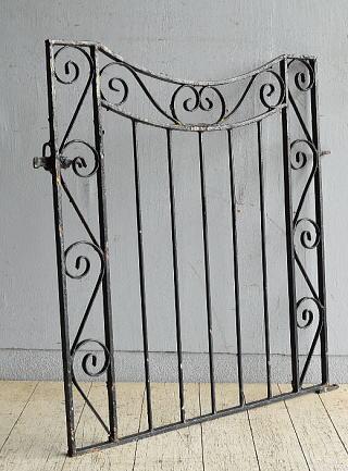 イギリス アンティーク アイアンフェンス ゲート柵 ガーデニング 8663
