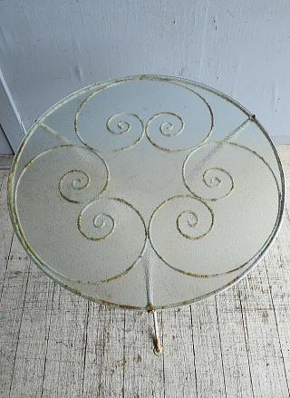 フレンチ アンティーク アイアン ガーデンテーブル  8681