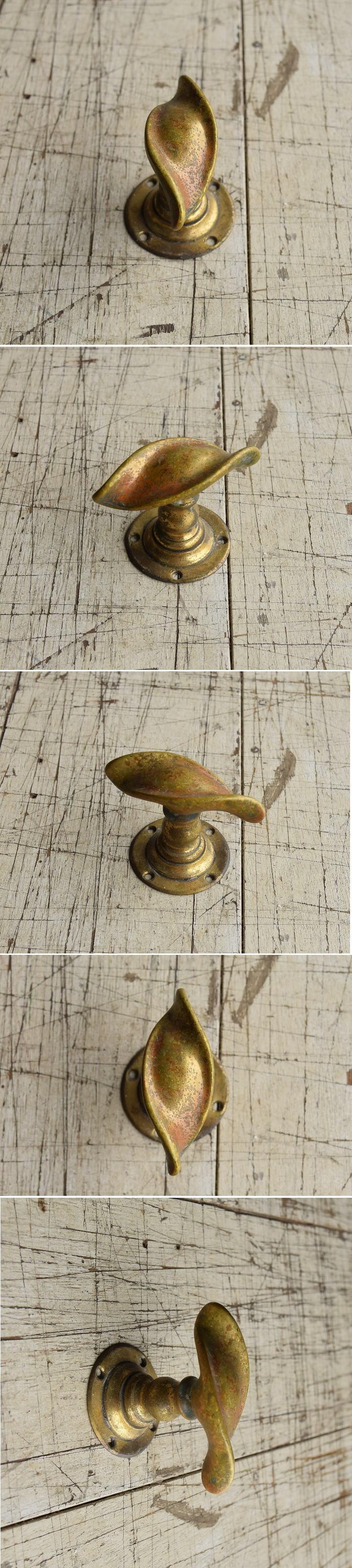 イギリス アンティーク 真鍮 ドアノブ 建具金物 握り玉 8745