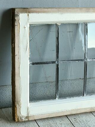 イギリス アンティーク 窓 無色透明 8767