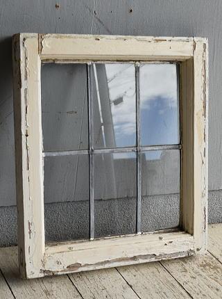 イギリス アンティーク 窓 無色透明 8782