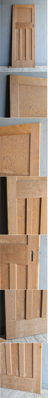 イギリス アンティーク オールドパイン ドア 扉 建具 8795