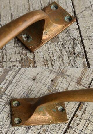 イギリス アンティーク 真鍮ハンドル 建具金物 取っ手 8804