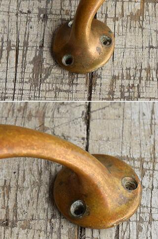 イギリス アンティーク 真鍮ハンドル 建具金物 取っ手 8806