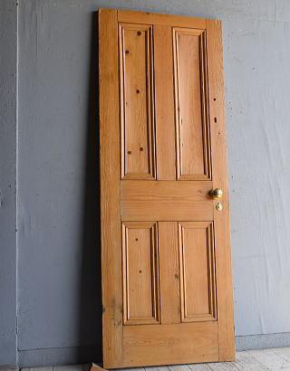 イギリス アンティーク パインドア 扉 建具 8820
