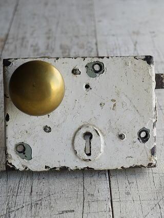 イギリス アンティーク ラッチ&ドアノブ 建具金物 8828