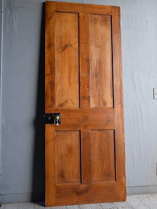 イギリス アンティーク パインドア 扉 建具 8849