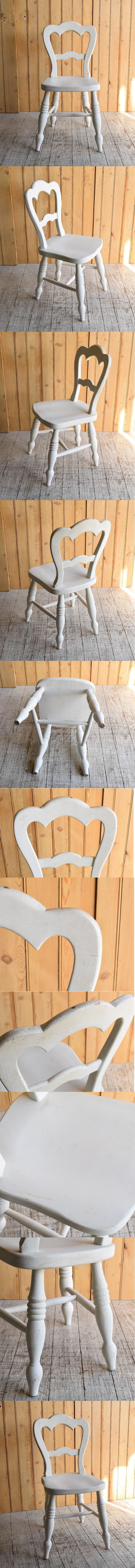 イギリス アンティーク家具 キッチンチェア 椅子 8885