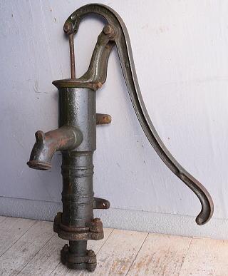 イギリス アンティーク ウォーターポンプ 井戸 ガーデニング 9014