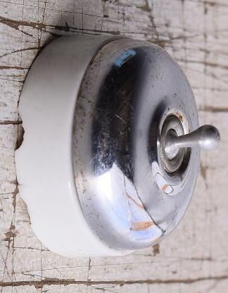 フレンチ アンティーク スイッチ 照明器具 9121