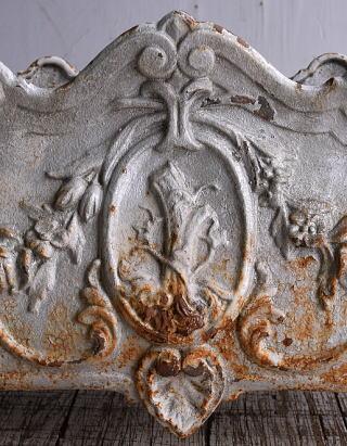 フレンチ アンティーク 鉄製 プランター 植木鉢 9150