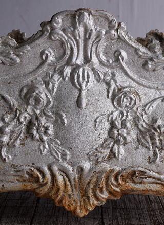フレンチ アンティーク 鉄製 プランター 植木鉢 9151