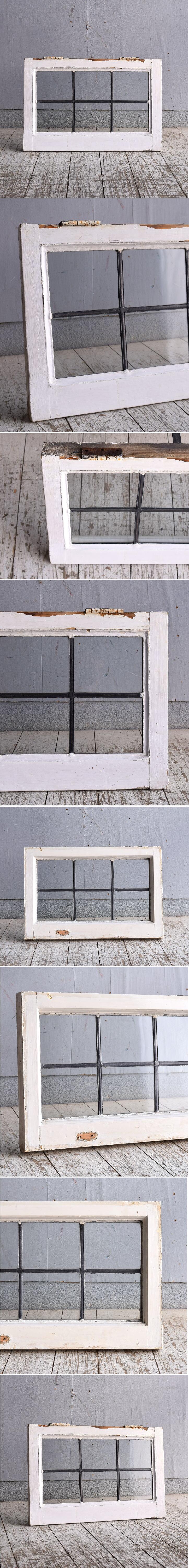 イギリス アンティーク 窓 無色透明 9265