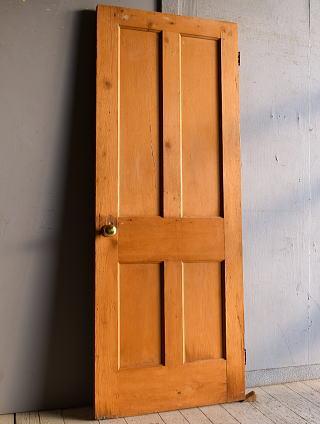 イギリス アンティーク パインドア 扉 建具 9301