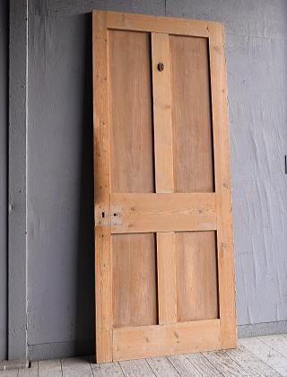 イギリス アンティーク オールドパイン ドア 扉 建具 9313