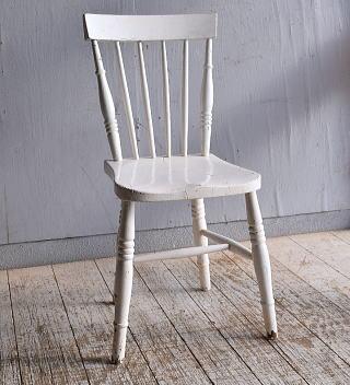 イギリス アンティーク家具 キッチンチェア 椅子 9363
