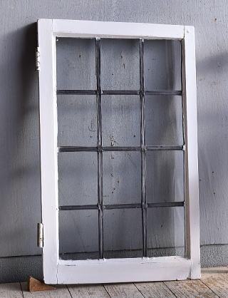 イギリス アンティーク 窓 無色透明 9371