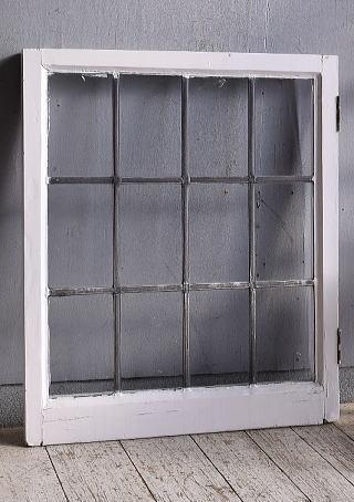 イギリス アンティーク 窓 無色透明 9373