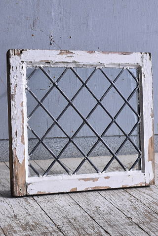 イギリス アンティーク 窓 無色透明 9377