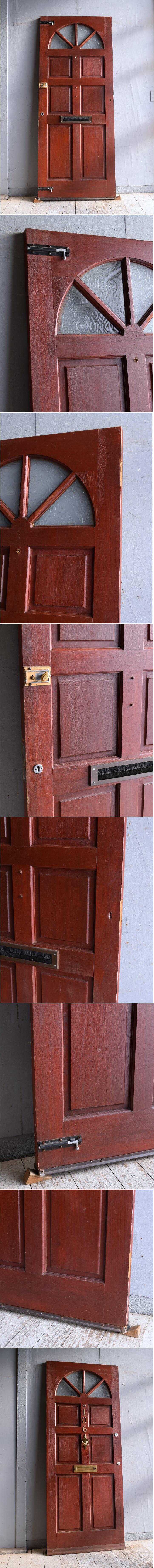 イギリス アンティーク ドア 扉 建具 9384