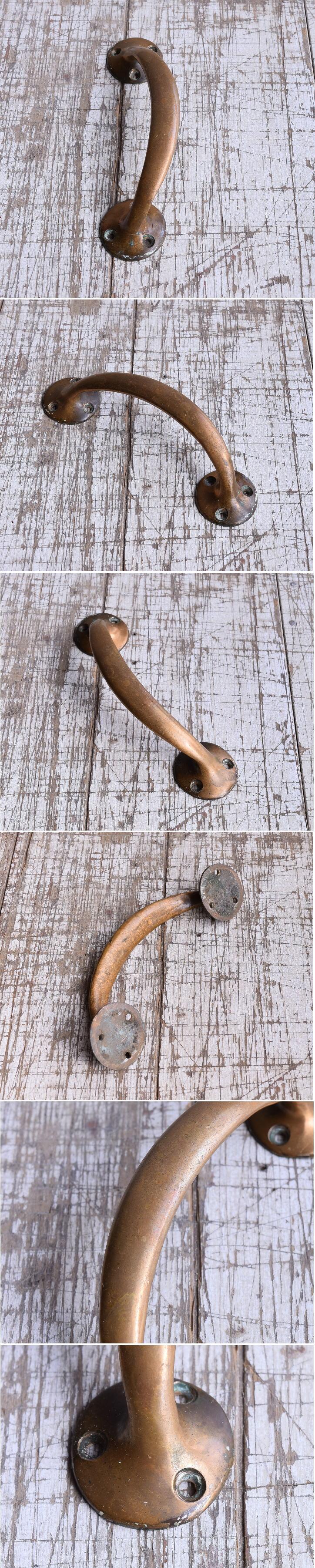 イギリス アンティーク 真鍮ハンドル 建具金物 取っ手 9417