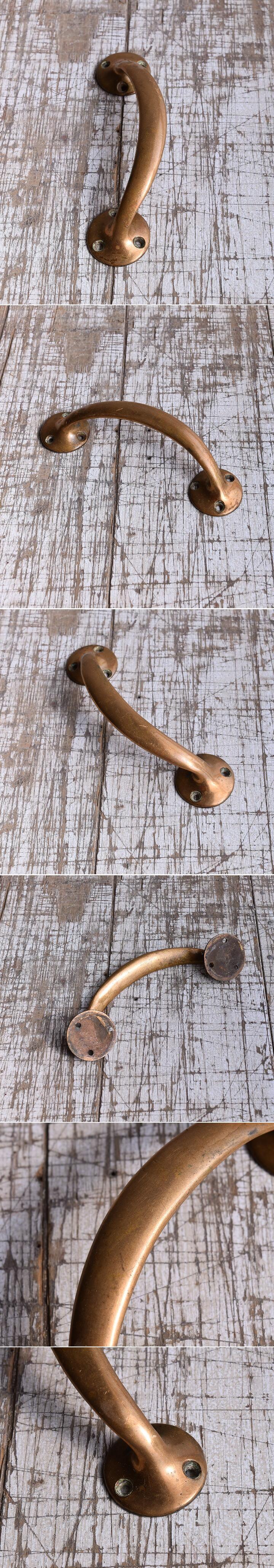 イギリス アンティーク 真鍮ハンドル 建具金物 取っ手 9419