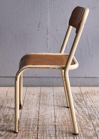 イギリス アンティーク スクールチェア 学校椅子 9432