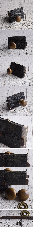 イギリス アンティーク ラッチ&ドアノブ 建具金物 9566