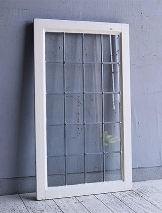 イギリス アンティーク 窓 無色透明 9595