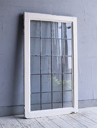 イギリス アンティーク 窓 無色透明 9596
