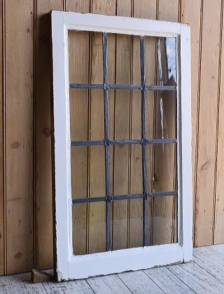 イギリス アンティーク 窓 無色透明 9621