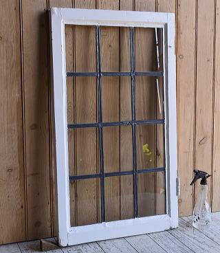 イギリス アンティーク 窓 無色透明 9622